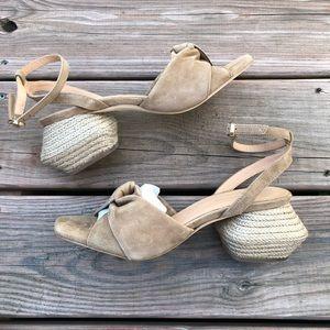 PALOMA BARCELO Morgan's suede Sandals
